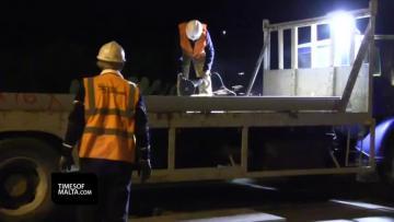 Watch: Mrieħel footbridge takes shape