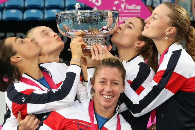 France crush Australian dreams to win Fed Cup final