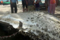 Metal on Thai beach was part of rocket, not missing plane