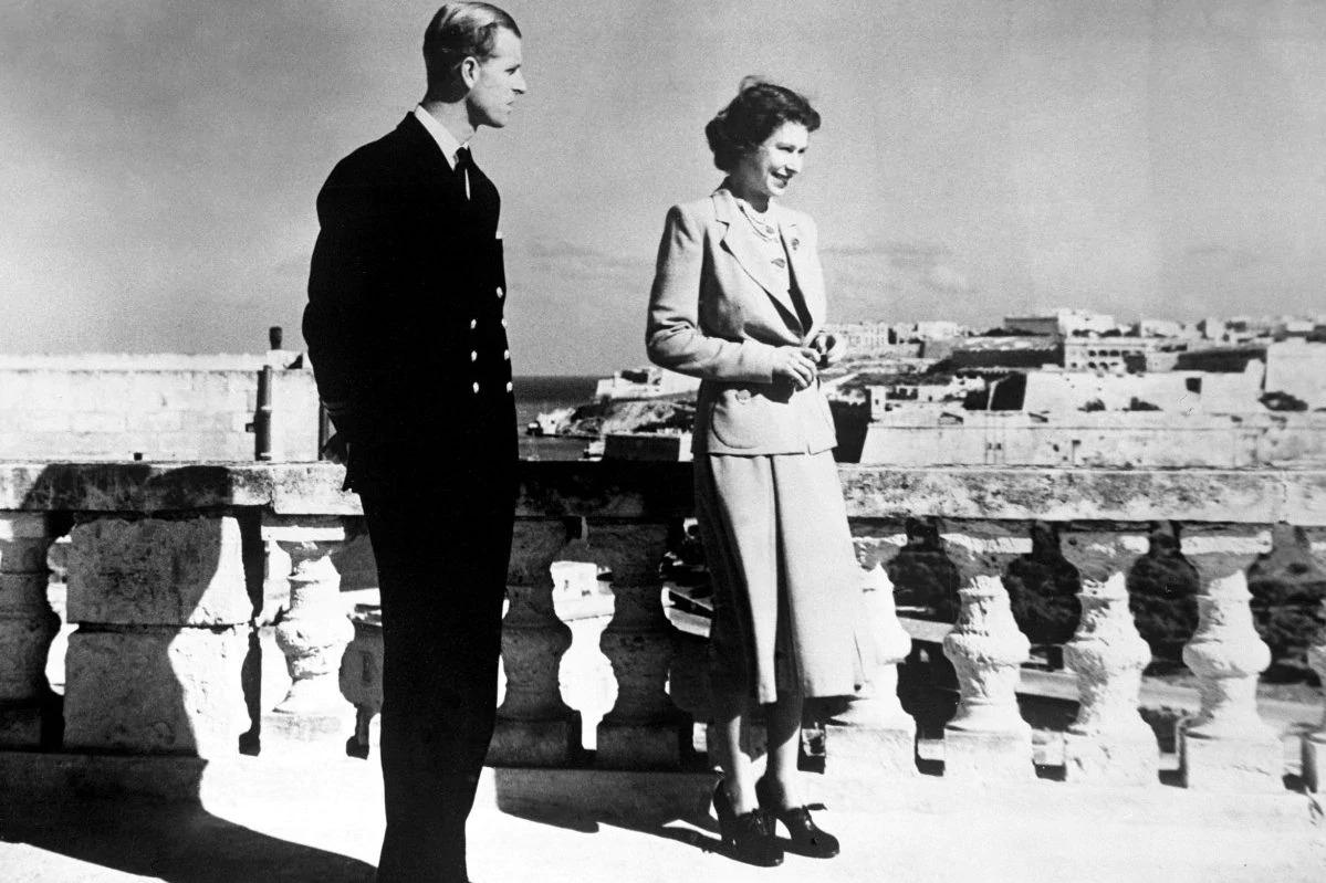 The royal couple at Villa Guardamangia during their time in Malta. The villa is now being transformed into a tourist attraction. Photo: Frank Attard