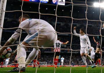 Ronaldo backheel earns Madrid late draw with Bilbao