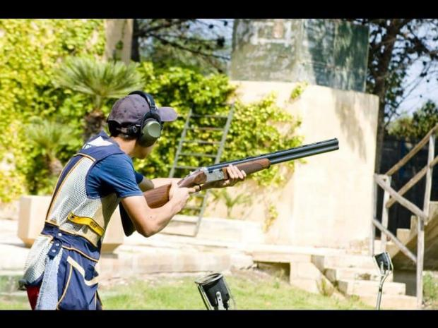 Marlon Attard produced a strong performance at the Sydney World Cup shoot.