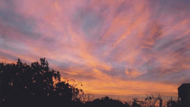 A glorious sunset viewed from Binġemma Heights.