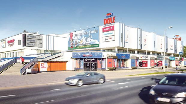 Dole shopping centre in Riga's suburbs has been acquired by Hili Properties.