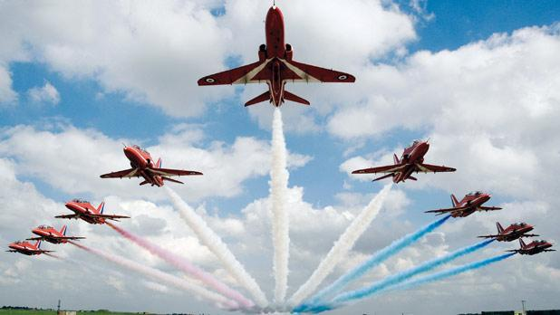 Photo: Red Arrows