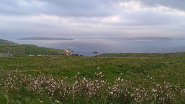 View of Comino and Malta from Ta' Ċenċ, Gozo. Photo: Joseph Galea