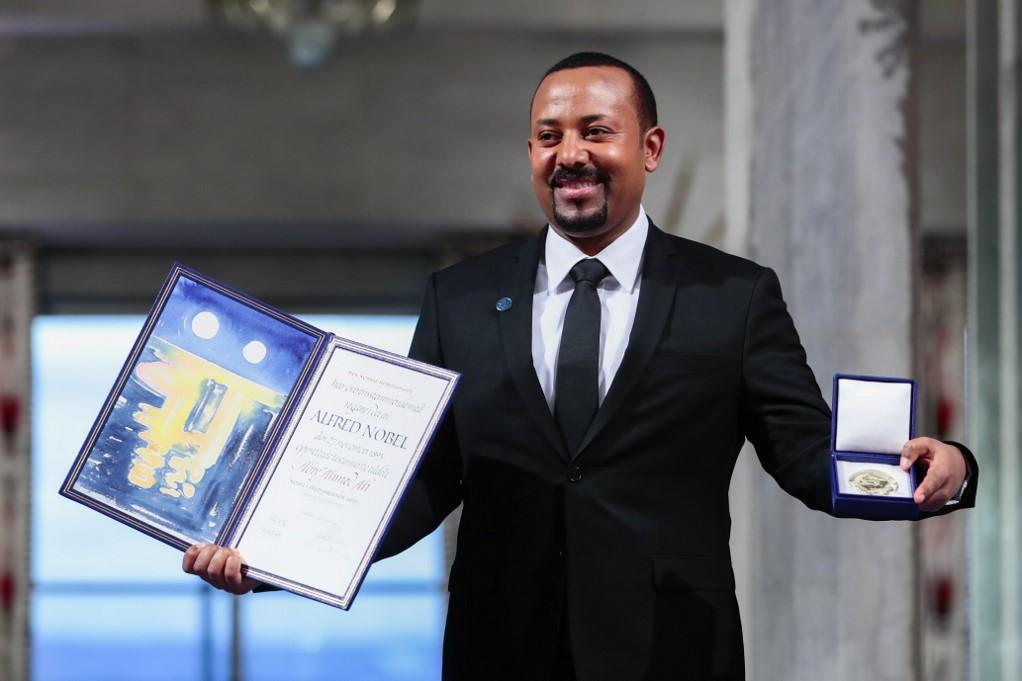 Ethiopia's Prime Minister and Nobel Peace Prize Laureate Abiy Ahmed Ali. Photo: AFP
