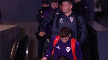 Watch: River join Boca in Madrid ahead of Libertadores decider | Video: AFP