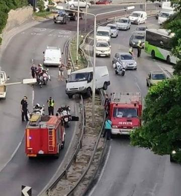 Fire trucks at the scene. Photo: David Schembri