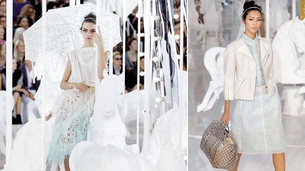 Louis Vuitton spins candyfloss carousel 0fa335bd6a0