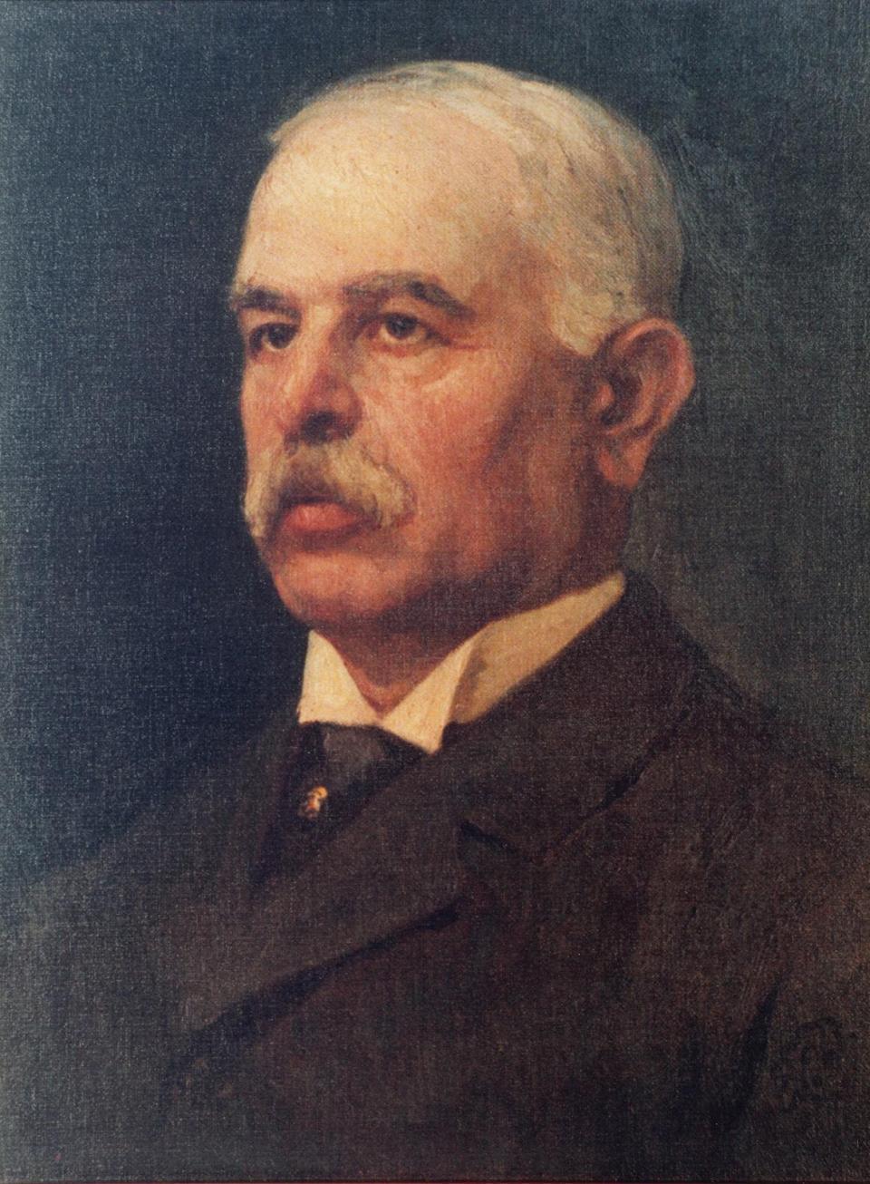A portrait of Lorenzo Manché by Edward Caruana Dingli