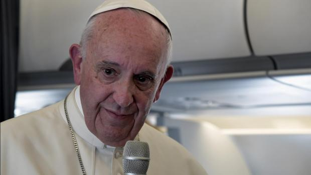 Pope says he'll seek common ground with Trump