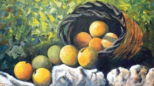Still Life with Grapes and Pears.
