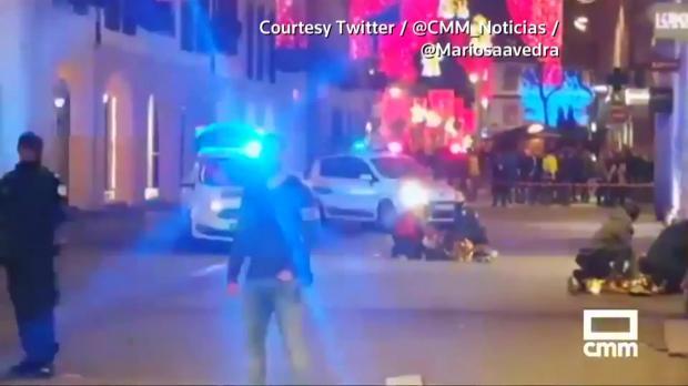 a6a082f0e965 Gunman kills 3 people in Strasbourg Christmas market, flees