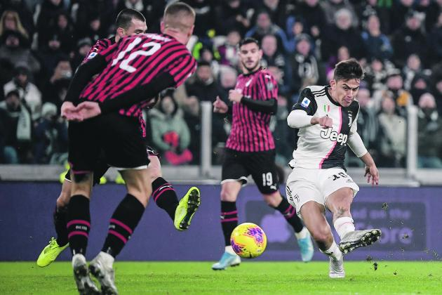 Updated: Dybala puts Juventus back on top