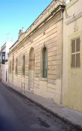 The primary school in Tarxien was built in1889. Photo courtesy of Prof. Joseph Falzon