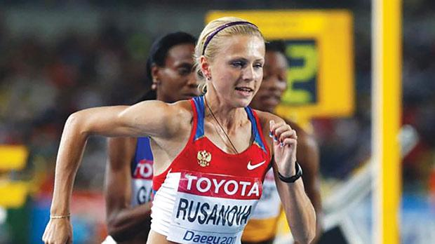 Yuliya Rusanova (now Yuliya Stepanova) lifted the lid on the widespread doping programme in Russian athletics.