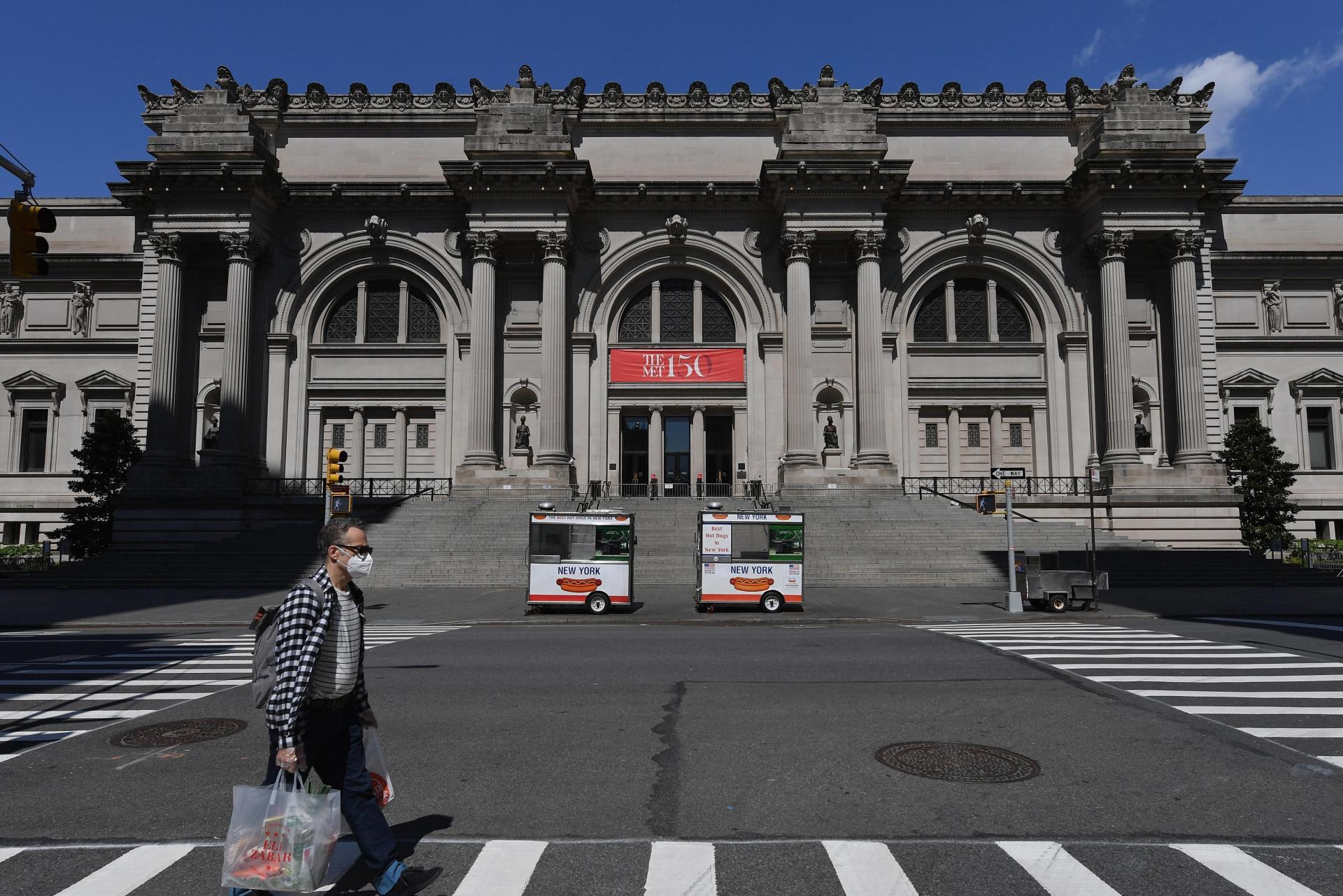 New York's Metropolitan Museum. Photo: Angela Weiss/AFP