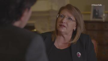 Watch: 'Grow a thick skin,' President advises her successor