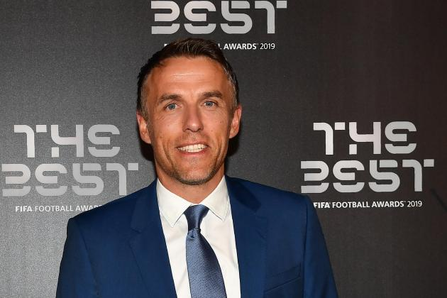 Phil Neville eyes move into club football after Pep talk