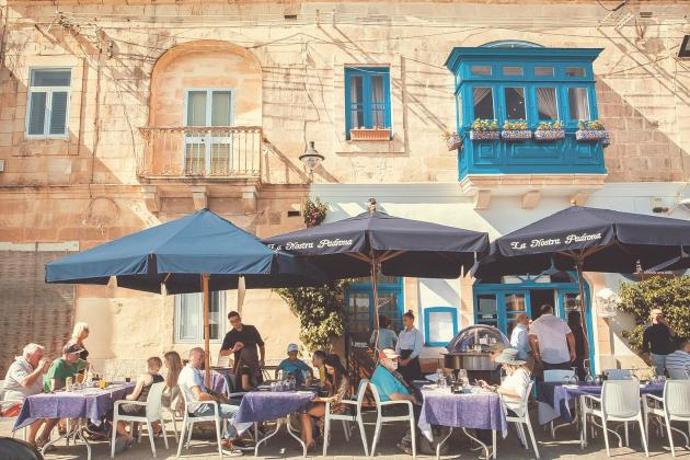 Eating out in EU has grown most in Malta