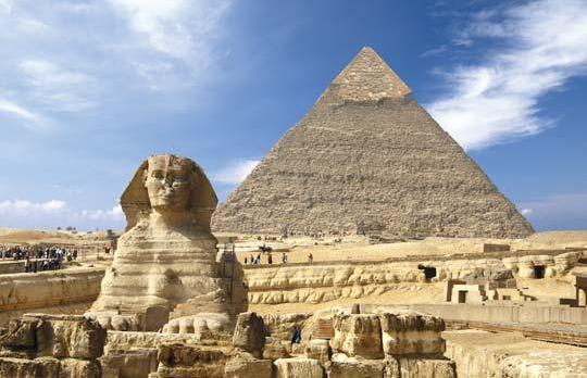 The Sphinx and the Great Pyramid in Giza had their lights turned off in support of Earth Hour yesterday, a global initiative to switch off non-essential lights as a call to action on climate change.