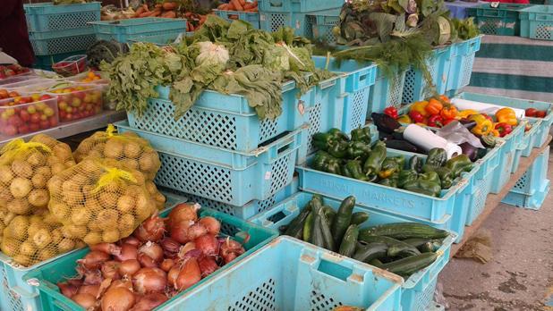 Fresh produce at the farmers' market. Photo: Megan Mallia