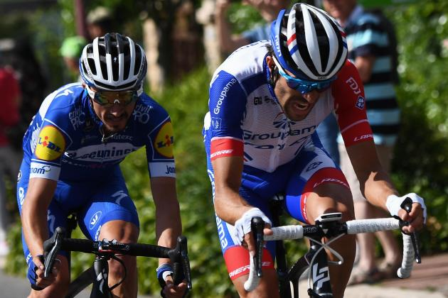 France's Alaphilippe storms into Tour yellow for Bastille Day