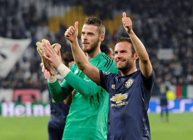 Subsititue Juan Mata scored the goal which started Manchester United's comeback against Juventus