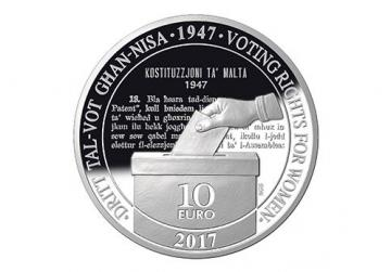 The Central Bank's commemorative coin.