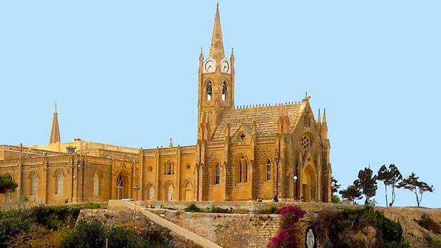 Our Lady of Lourdes Church, Mġarr, Gozo. Photo: Alfred Gatt