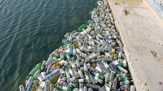 'The disease of single use plastic bottles is urgent.'
