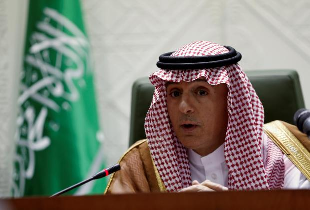 Saudi Arabia's Foreign Minister Adel Al-Jubeir. Photo: Reuters