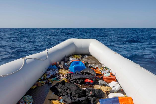 60 migrants reported stranded at sea, a year after Easter pushback
