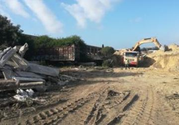 Illegally-dumped material being removed from Ta' Qali