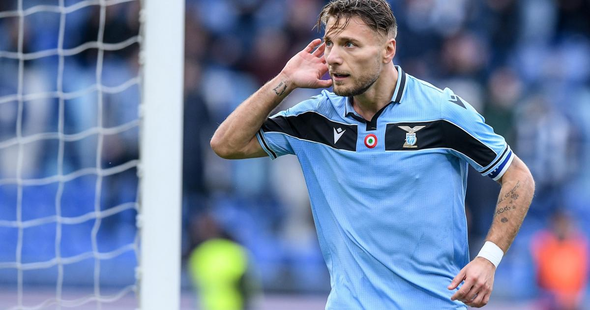 Immobile Hat Trick As Lazio Thrash Sampdoria Keep Title