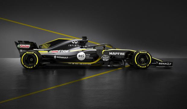 Renault have unveiled their new car for the new F1 season.