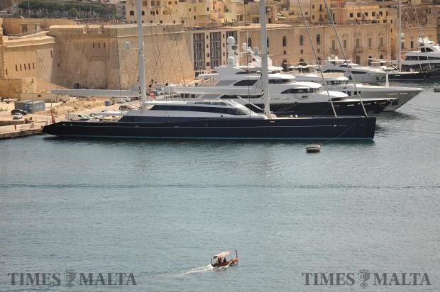 A boat carries tourists across Grand Harbour on September 5. Photo: Chris Sant Fournier