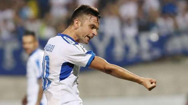 Andre Schembri played a key role as Apollon Limassol knocked out Aberdeen from the Europa League.