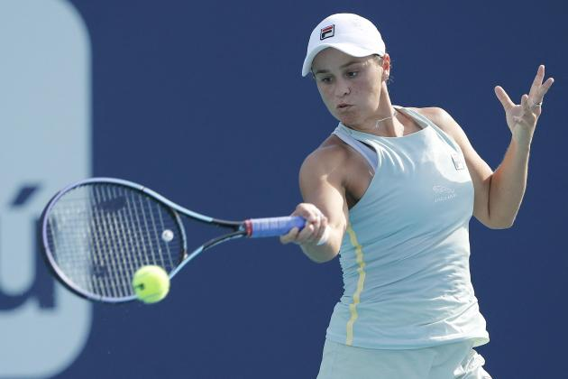 Barty to face Andreescu in Miami final, Hurkacz topples Tsitsipas