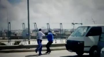 Watch: Road rage argument lands a man in hospital