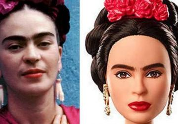 Frida Barbie stopped by relatives