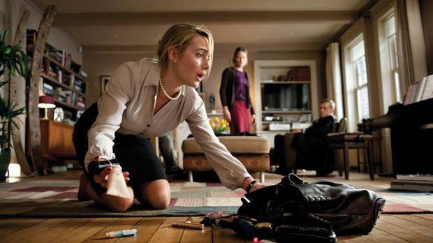 Kate Winslet in Carnage.