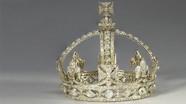 Queen Victoria's Small Diamond Crown.