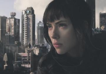 Scarlett Johansson plays a perfect 'soldier' devoted to stopping criminals in Ghost in the Shell.