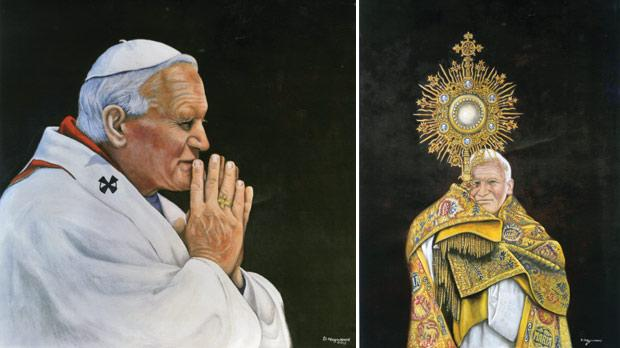 Painting the Pope