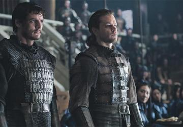 Matt Damon and Pedro Pascal look like Terracotta Army warriors in The Great Wall.