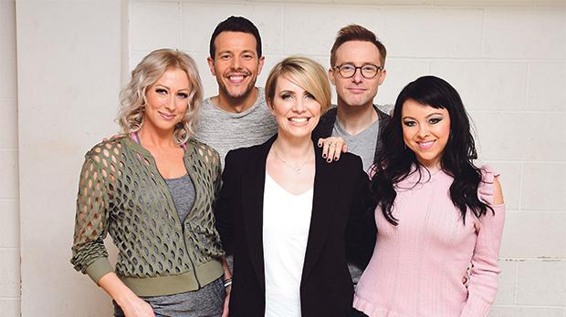 From left: Faye Tozer, Lee Latchford-Evans, Claire Richards, Ian 'H' Watkins and Lisa Scott-Lee form the band Steps. Photo: PA Wire