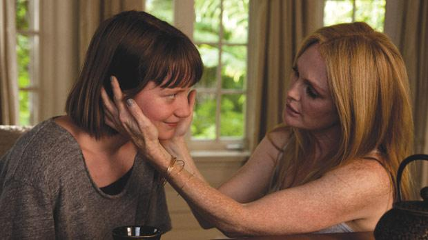 There is something inherently sad in Julianne Moore (right) and Mia Wasikowska in Maps to the Stars.