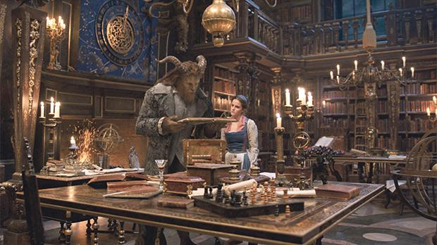 Emma Watson and Dan Stevens in Beauty and the Beast.